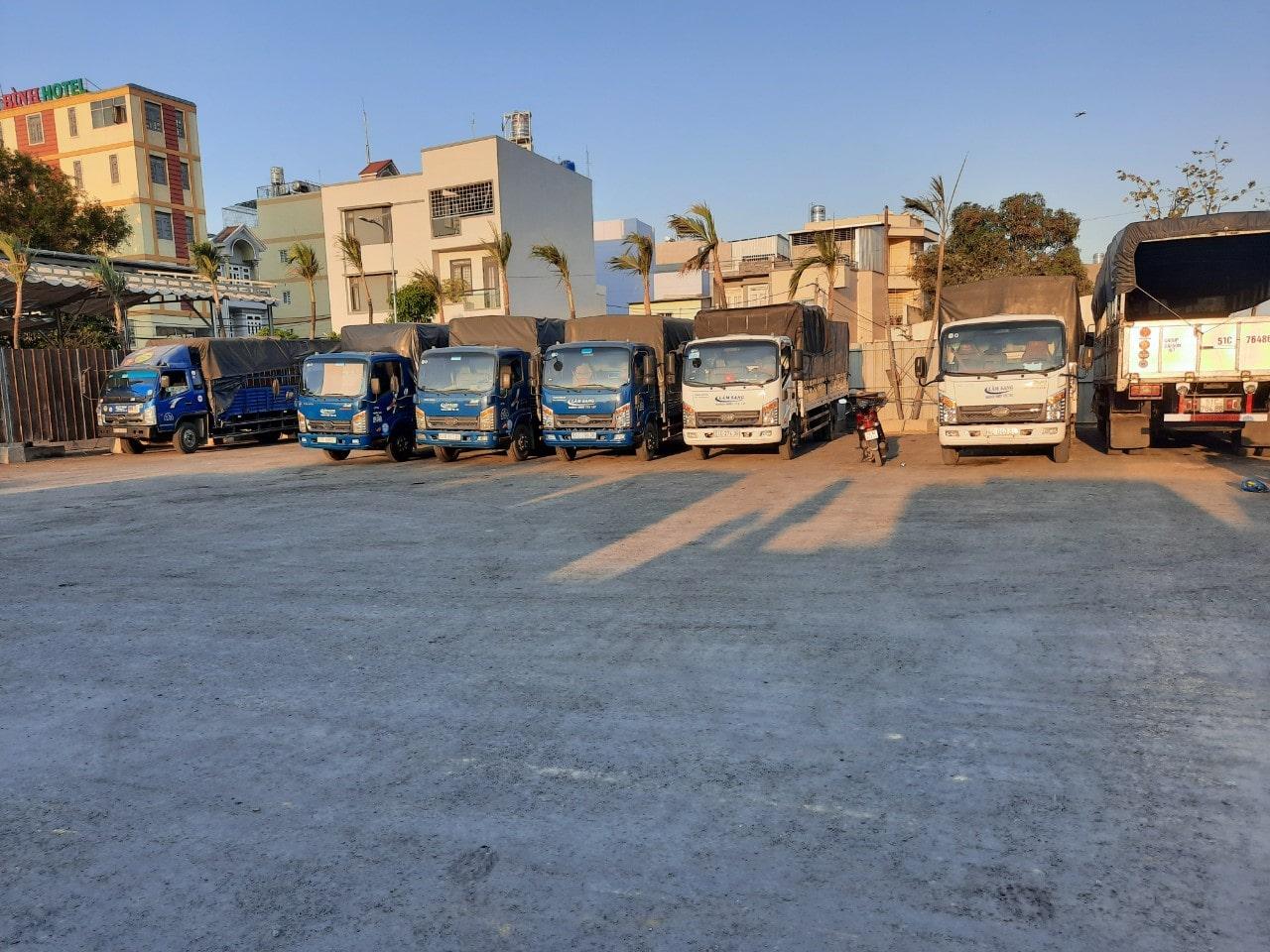 Xe tải chở hàng tại TPHCM giá rẻ, uy tín và chuyên nghiệp