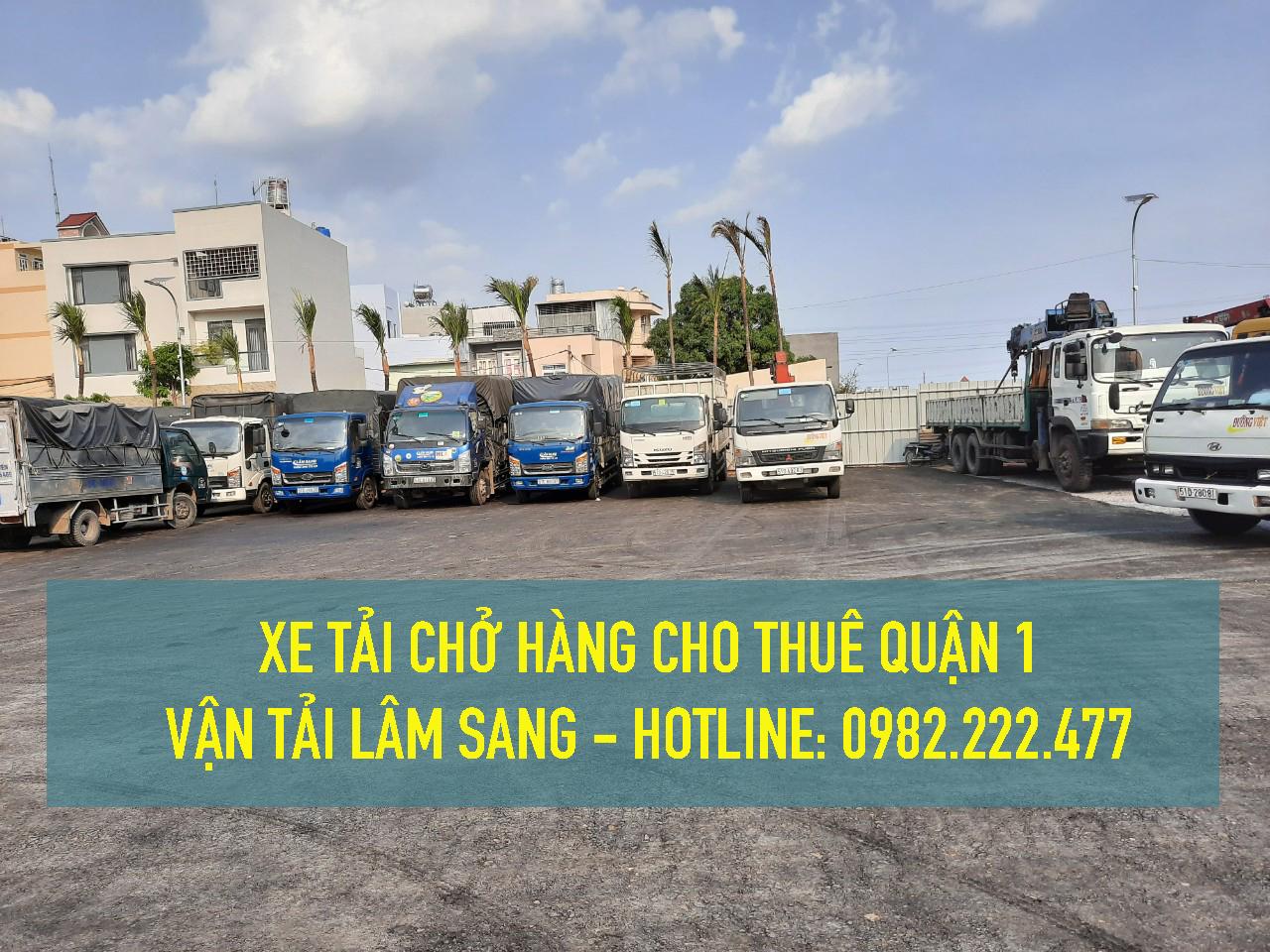 Cho thuê xe tải nhỏ chở hàng giá rẻ tại Quận 1 – Công ty vận tải Lâm Sang
