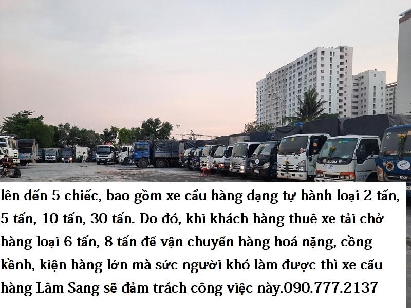 Xe Tải Chở Hàng 6 Tấn, 8 Tấn Cho Thuê Tại TPHCM
