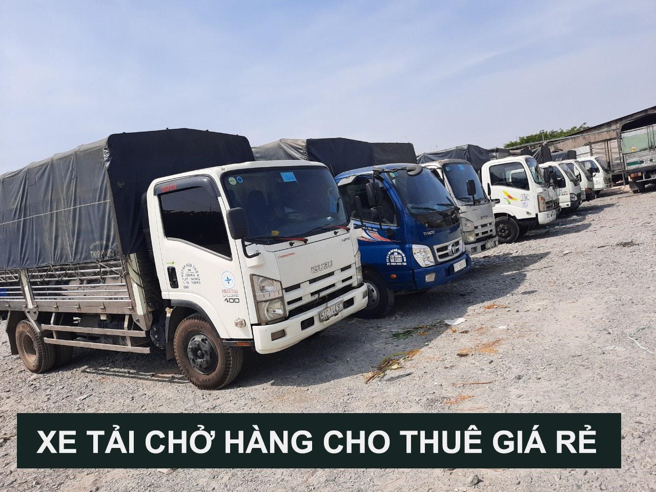 Dịch vụ cho thuê xe tải chở hàng 1 tấn giá rẻ uy tín tại tphcm