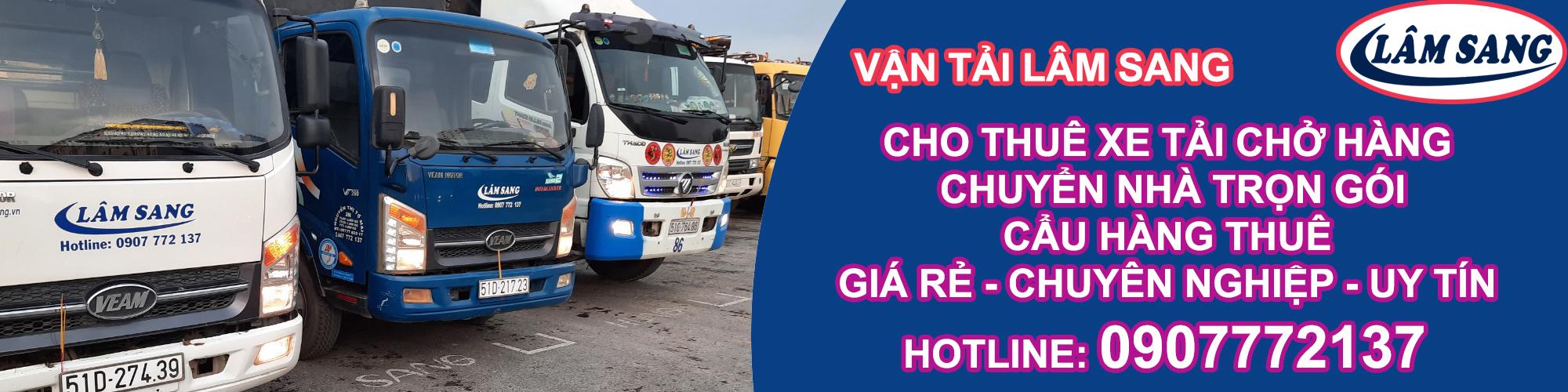 Dịch vụ vận tải hàng hoá – Xe tải chở hàng TPHCM – Lâm Sang
