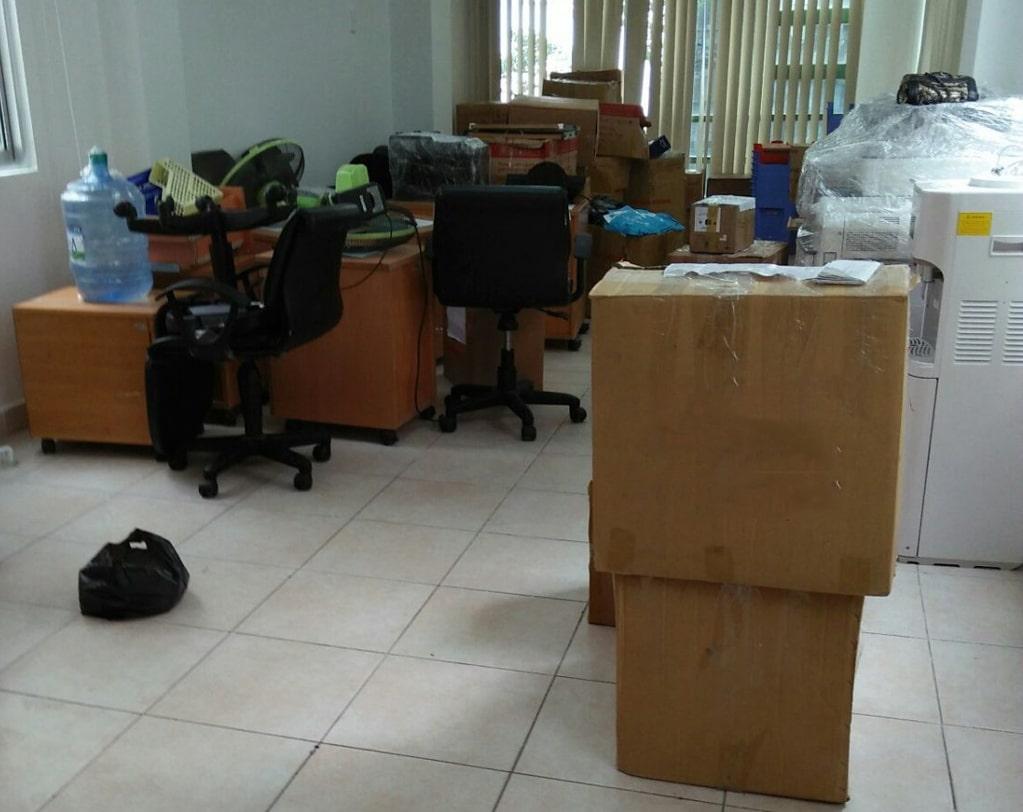 Chuyển dọn văn phòng cần lưu ý những vấn đề sau