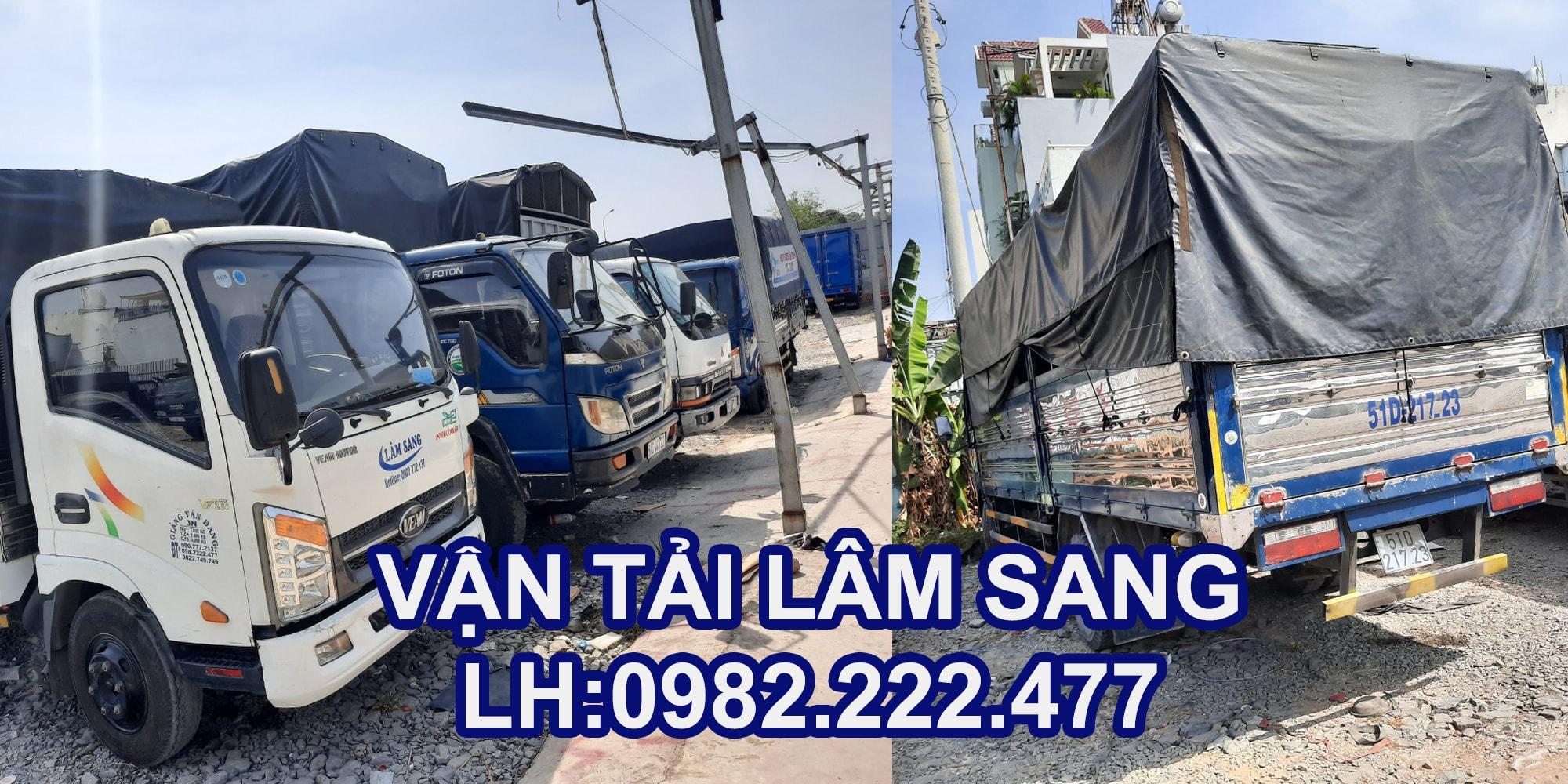 Dịch vụ vận chuyển hàng hoá - chuyển nhà trọn gói - cho thuê xe tải chở hàng giá rẻ tại TPHCM