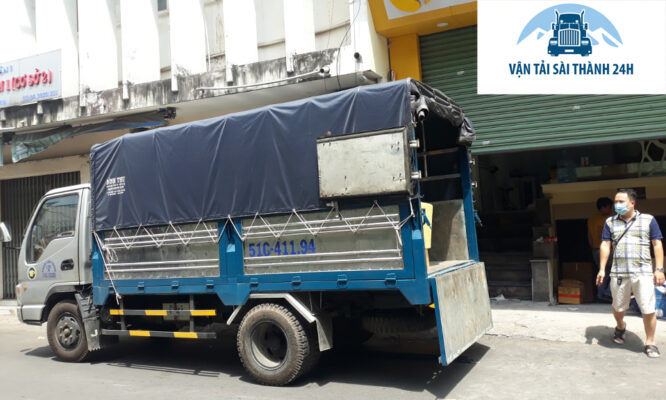 Dịch vụ chuyển nhà bằng xe tải giá rẻ