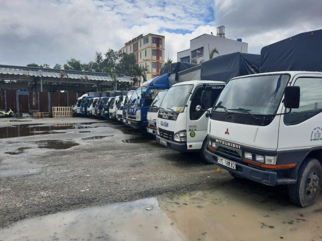 dịch vụ chuyển hàng hoá, cho thuê xe tải chở hàng tại Bình chánh